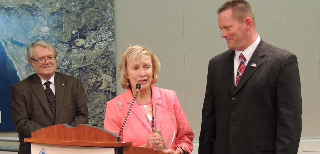 Former council woman receives honors