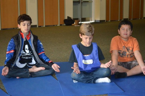 EUSD yoga trial underway