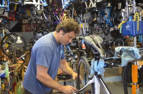 Bike repair business booming in Encinitas