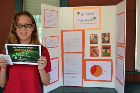 Student squeezes out win score in science fair