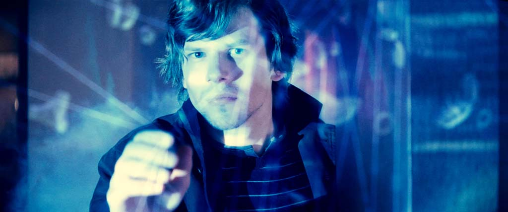 "Jessie Eisenberg is a bank-robbing magician in ""Now You See Me."" Photo courtesy of Summit Entertainment"