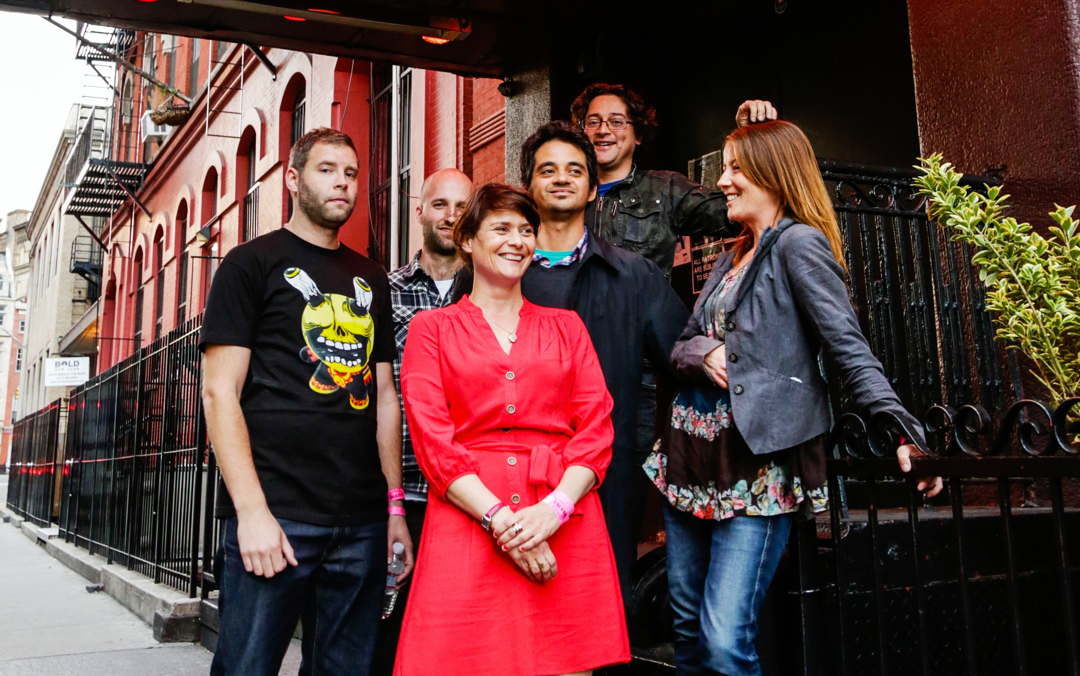 Sophie Barker, center, will be performing with her new band on a headline tour with fellow Brit band The Egg, at The Belly Up May 13. Courtesy photo