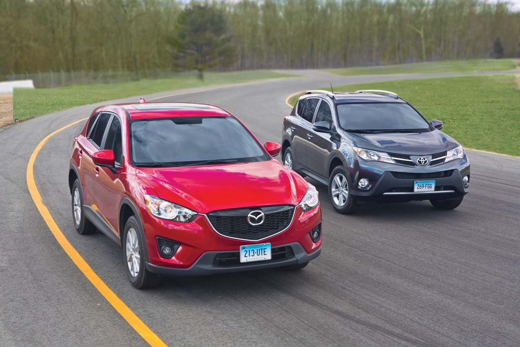 Mazda CX-5 vs. Toyota RAV4