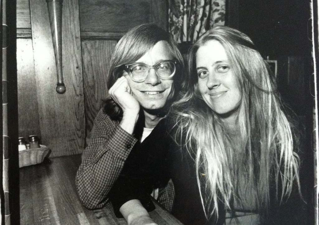 Cindy Lee Berryhill and Paul Williams in 1993. Following his death a month and a half ago, friends and family have honored Williams, the father of rock criticism.  Courtesy photo
