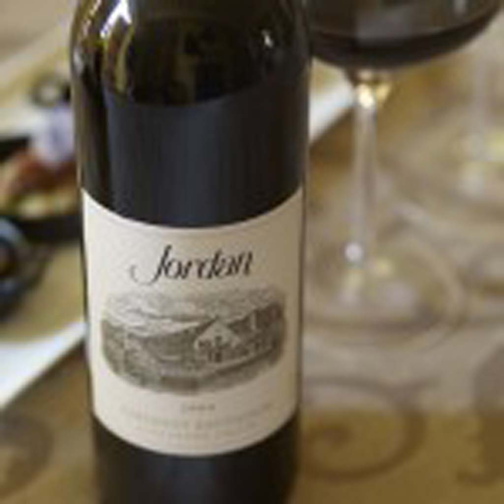 The Jordan Cabernet expresses the elegance of Alexander Valley's red wines. Photo courtesy of Jordan Winery