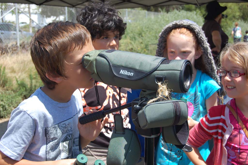 Del Mar students get the chance to explore life at lagoon