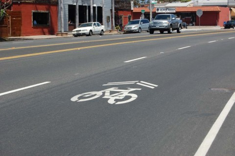 Sharrows soon to make their mark in Solana Beach