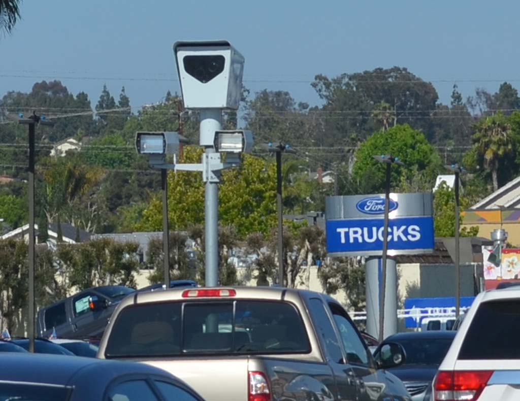 Council hears report on red light cameras