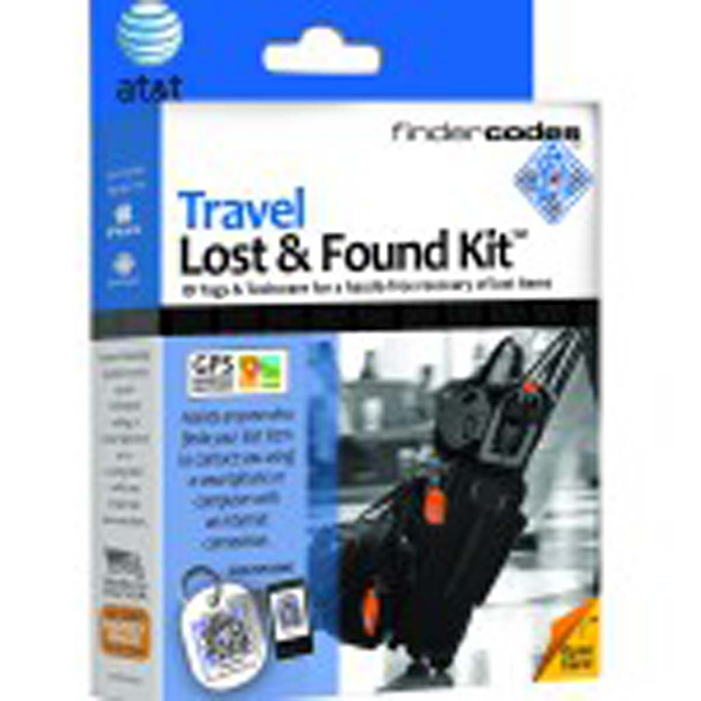 "From FinderCodes (findercodes.com): Losing luggage or any of those precious electronic items that we no longer can live without is not something we want to think about but must anticipate. FinderCodes' Travel Lost & Found Kit helps unite finders and owners. Attach ""smart tags"" with QR (quick response) matrix codes to all your precious possessions. Each kit comes with two large tags with straps for luggage; one medium tag with a steel ring for cameras, backpacks and shoulder bags; and two adhesive tags for cell phones, e-readers, tablets and laptops. Owners register items and contact information online (it can always be updated), and finders scan tags with cell phones or go online."