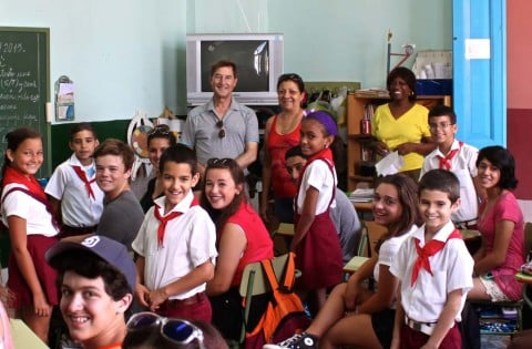 Local students explore Cuba