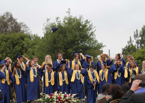Graduates at Grauer School celebrate