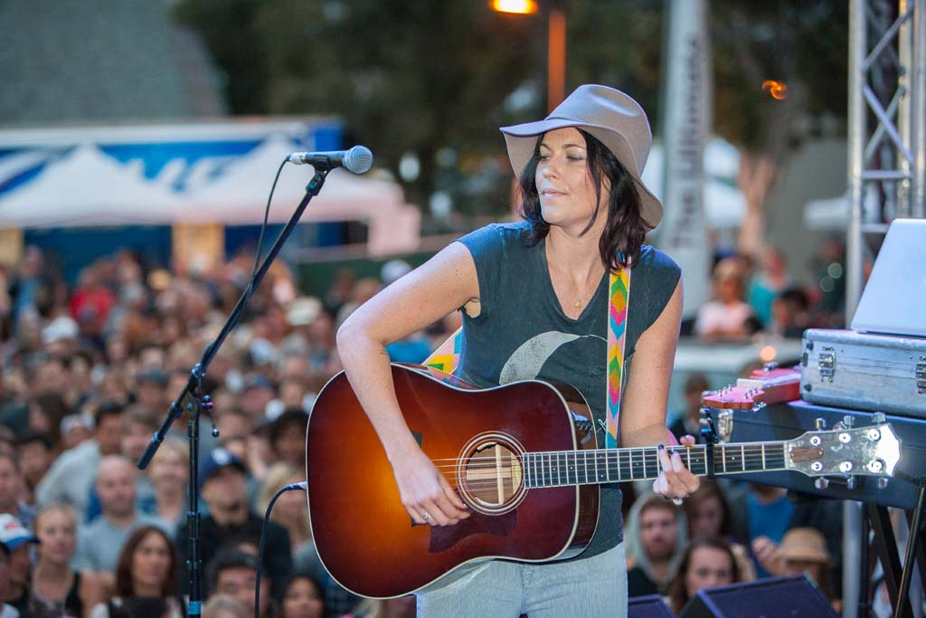 Solana Beach native Tristan Prettyman performs as headliner at Fiesta Del Sol for the first time. Photo by Daniel Knighton