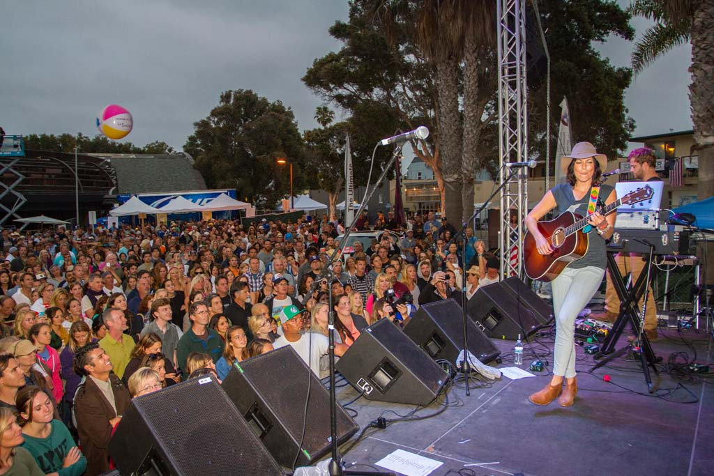 Singer/songwriter Tristan Prettyman headlines the Fiesta Del Sol in her hometown of Solana Beach. Photo by Daniel Knighton