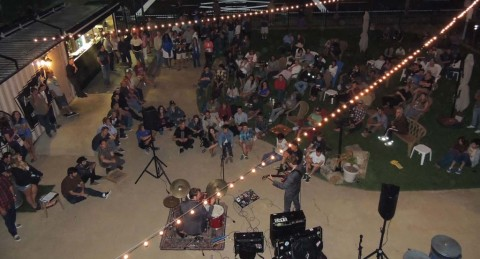 Village music opens fundraising for  anniversary festival