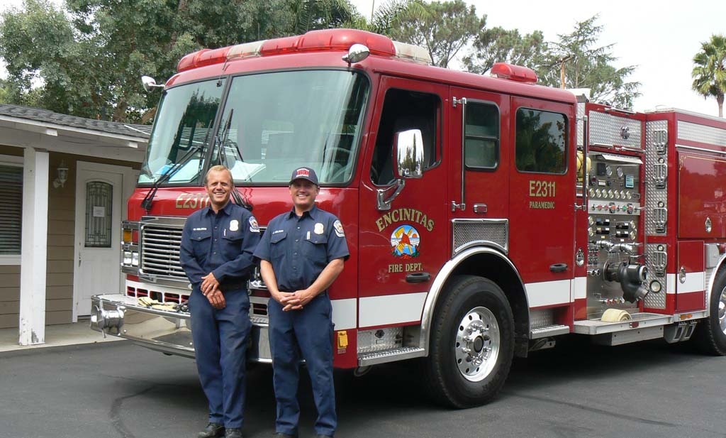 Encinitas hires three firefighters for Olivenhain