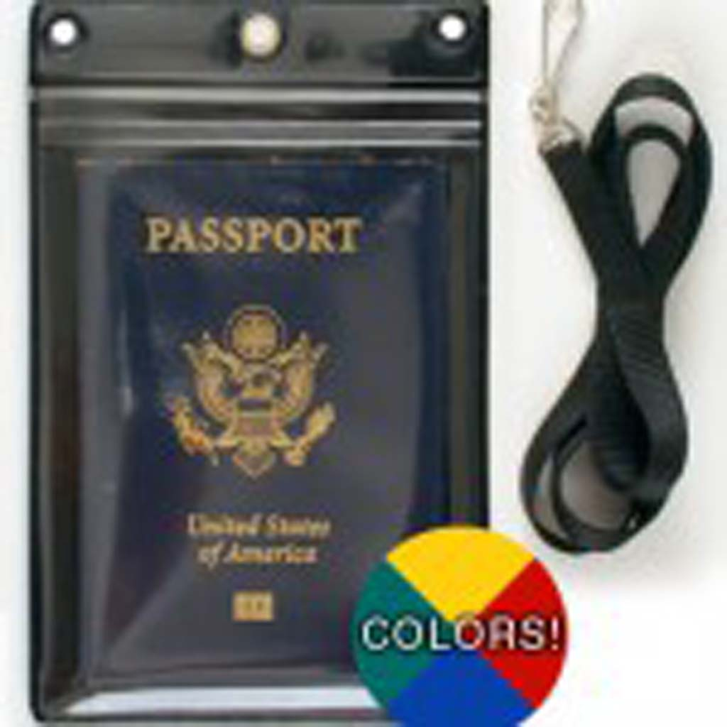 From StoreSMART (storesmart.com): Keep your passport safe from loss or pickpockets in this inexpensive holder. The Passport Buddy hangs around your neck or can loop around purse or backpack. Made of durable vinyl and features heavy-duty, 36-inch lanyard and water-resistant zipper closure. StoreSMART also offers holders for IDs, maps and other important documents.