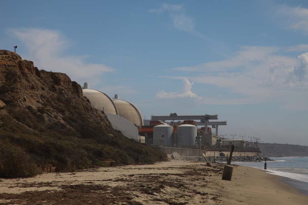 Southern California Edison announced that the San Onofre Nuclear Generating Station will be shut down permanently. The plant hasn't produced power since problems with the generator tubes were discovered in January 2012. Photo courtesy of Southern California Edison