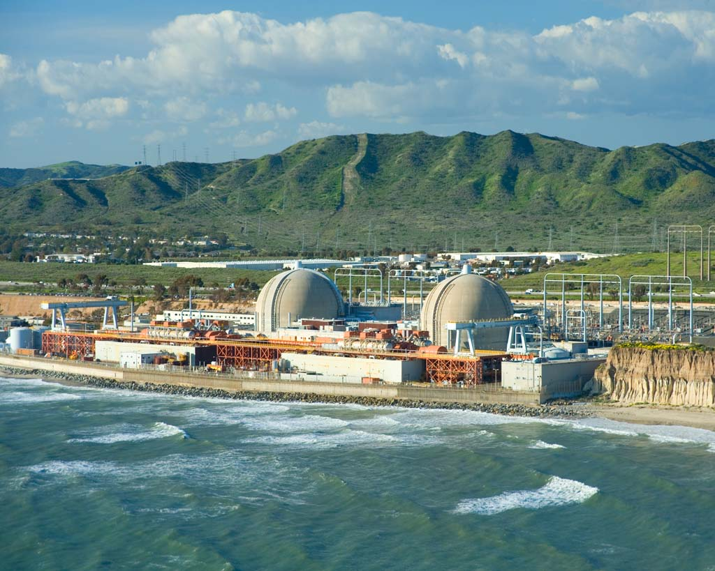 Southern California Edison announces Friday that they will permanently retire Unit 2 and Unit 3 of the San Onofre Nuclear Generating plant. Photo courtesy of Southern California Edison