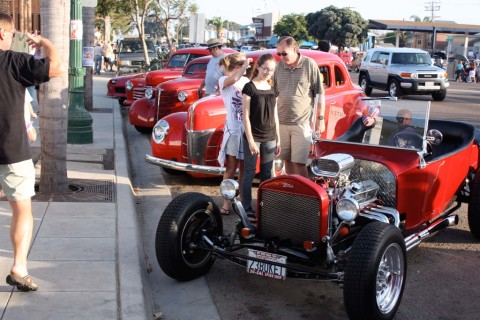 Classic car show rolls back the clock