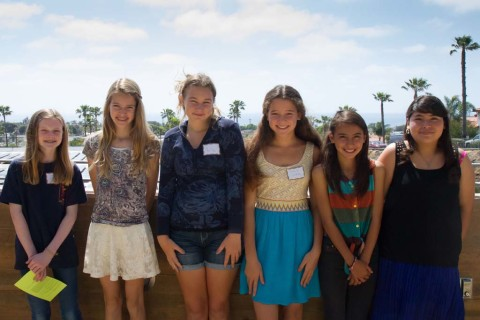 Girls earn AAUW Tech Trek scholarships