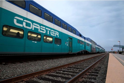 Coaster, Pacific Surfliner trains down this weekend