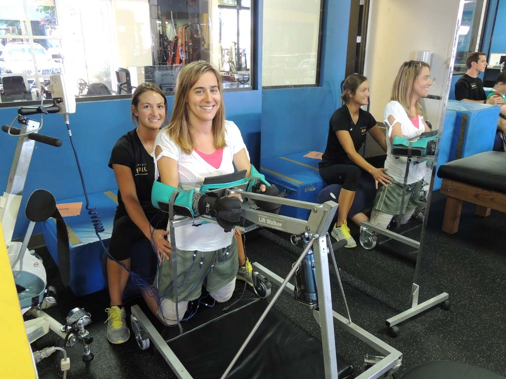 Project Walk making strides in  helping those with spinal cord injuries