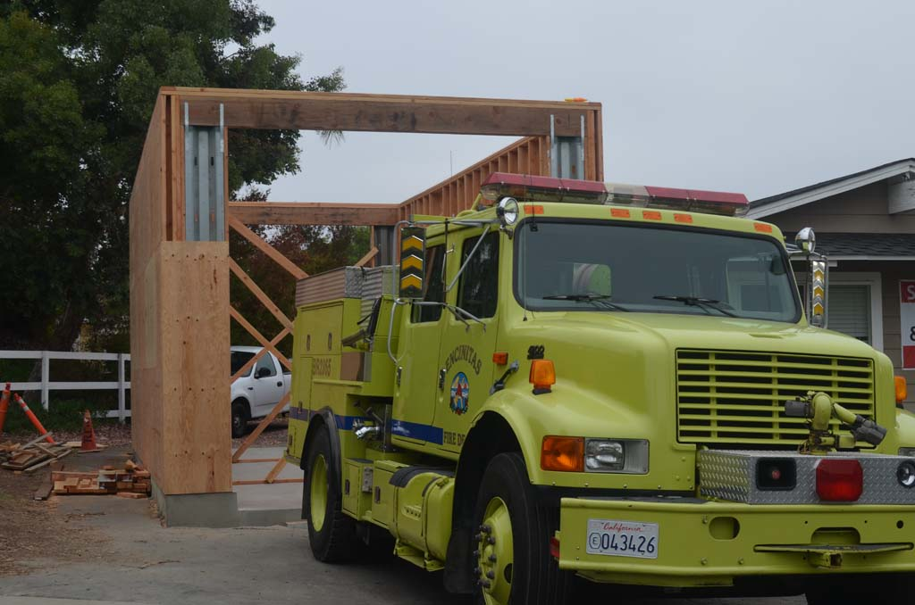 Olivenhain fire station undergoes upgrades
