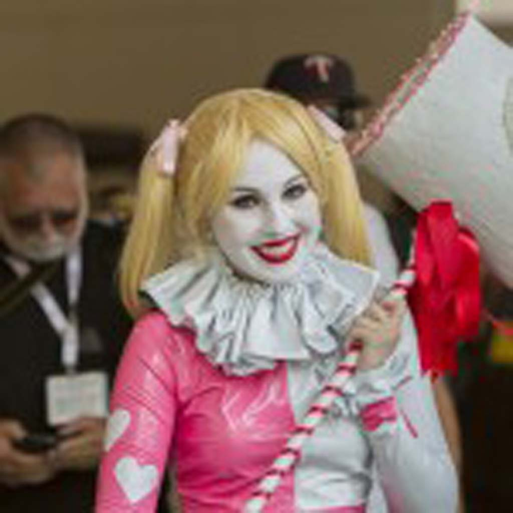 Scottsdale, Ariz. resident Megan Rhea dresses as the Batman character Harley Quinn at Comic-Con. Photo by Daniel Knighton
