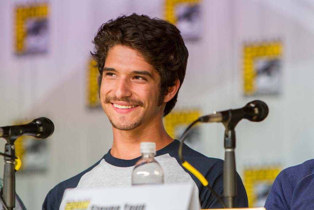 """Actor Tyler Posey """"Teen Wolf"""" appears at Entertainment Weekly's Brave New Warriors panel at Comic-Con. Photo by Daniel Knighton"""
