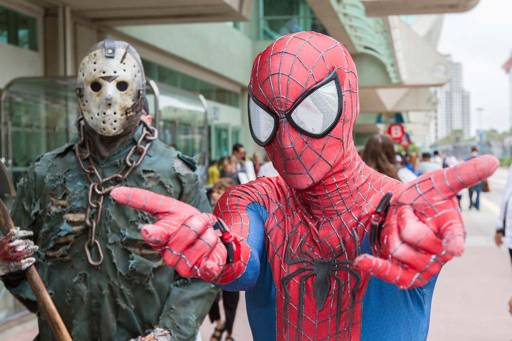 Some fans go all-out with their costumes during the annual Comic-Con International convention in San Diego. Photo by Daniel Knighton