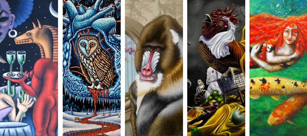 "Pop Surrealism featured in ""Perplexion"" exhibit"