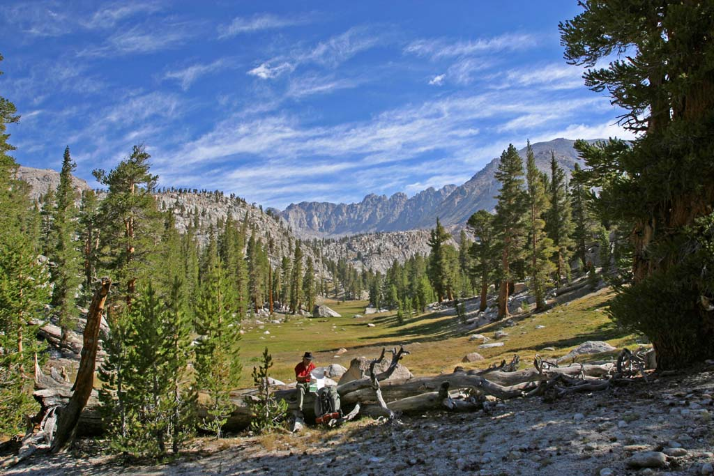 """Hiker, naturalist and author Tom Stienstra loves traveling the Pacific Crest Trail, but he thinks hiking and camping in the San Diego area is """"as good as it gets,"""" he writes. """"Everywhere you go, you will find campgrounds and parks, from primitive to deluxe. The region is one of the few that provides year-round recreation at a stellar level.""""  Courtesy photos"""
