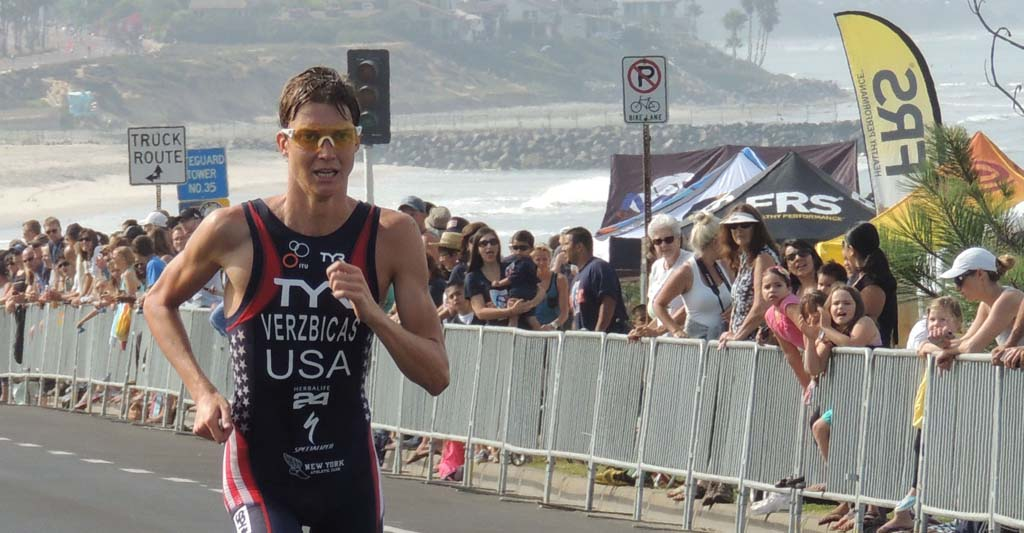 Carlsbad Triathlon races through town