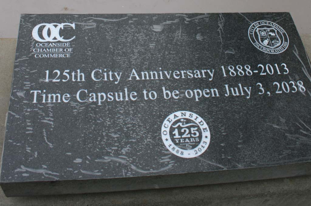 Time capsule buried on city's 125th anniversary