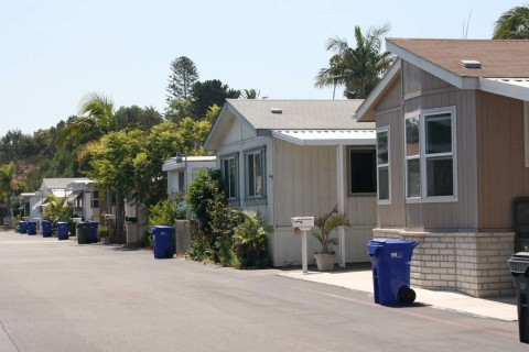 Court appeals mobile home park owner's request to subdivide property
