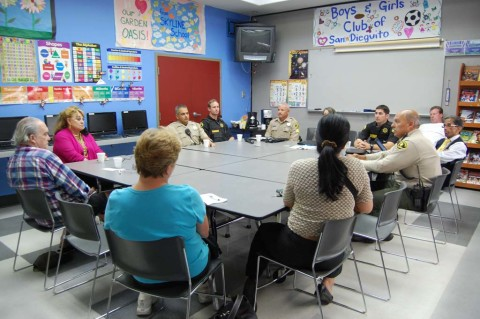 Residents share concerns with law enforcement