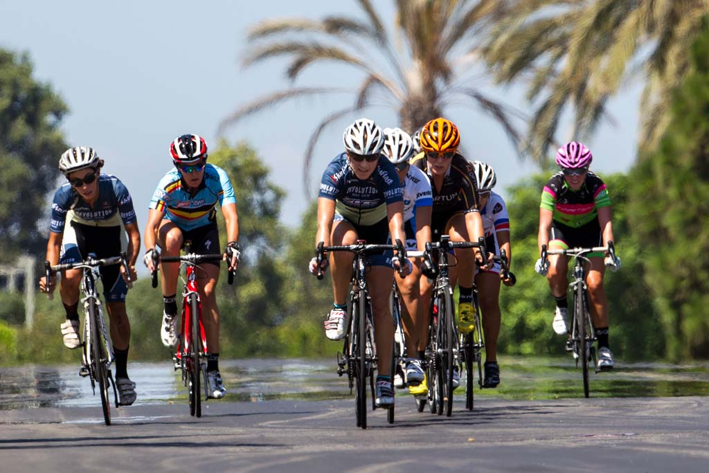 Cyclists take part in Carlsbad's first-ever 0.9 criterium race on Sept. 8. Photo by Bill Reilly