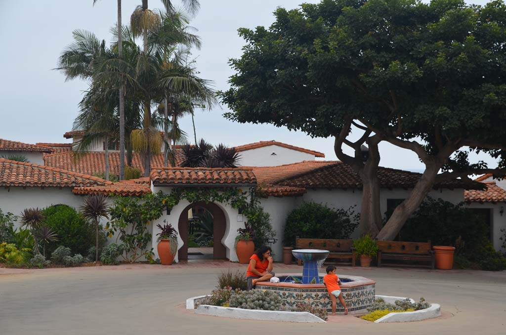 Casa Romantica, the former home of San Clemente's founder Ole Hanson, is one of the town's best kept secrets. The Spanish Colonial Revival home sits on a bluff overlooking the ocean. (Photo by Jerry Ondash)