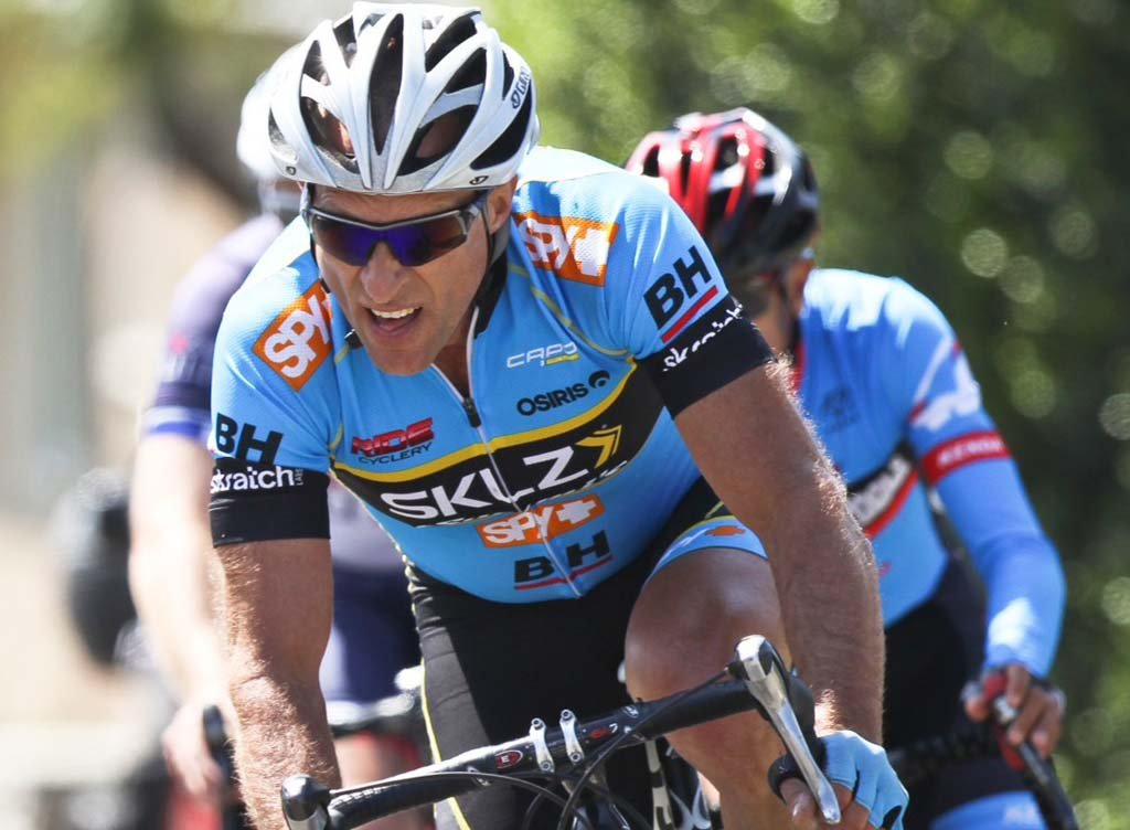 Hundreds of cyclists including Swami's Athletic Association member Andy McClure pictured above will participate in the upcoming Carlsbad Grand Prix. Photo courtesy of Kristy Morrow