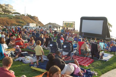 Families flock to Fletcher Cove film night