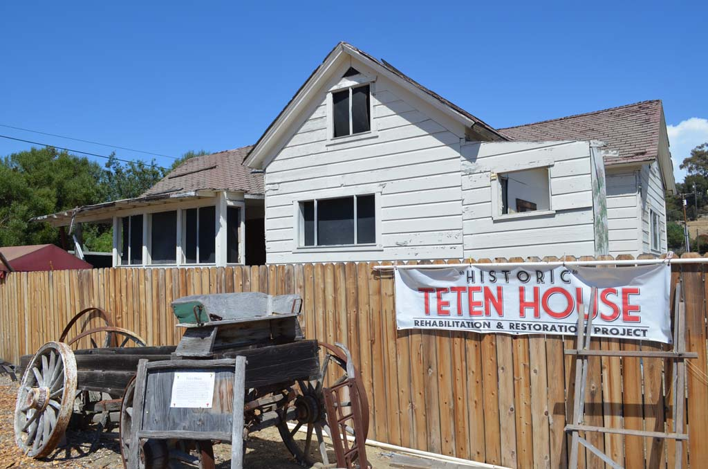 Built in 1885, the historic Teten House will be placed on concrete foundation as part of a San Dieguito Heritage Museum revamp. The Planning Commission backed the museum's master plan for expansion, paving the way for new exhibits. Photo by Jared Whitlock