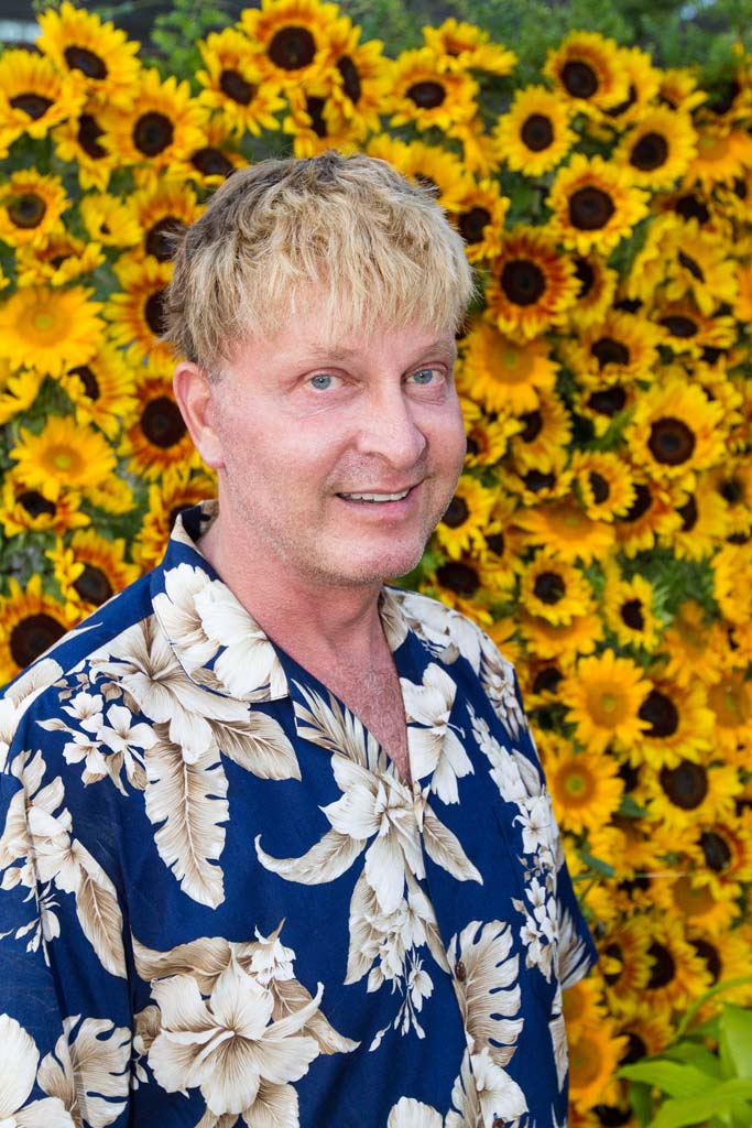 Encinitas resident Rene Van Rems, creative director for the Gala in the Gardens. Photo by Daniel Knighton