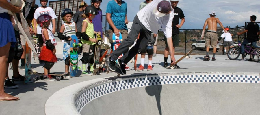 Alex Road Skatepark opens to 300 skateboarders in Oceanside