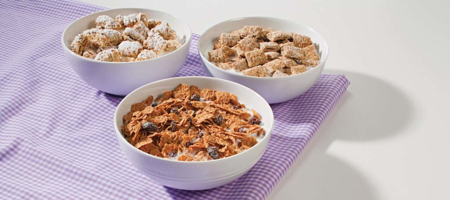 High-fiber cereals can satisfy your taste buds