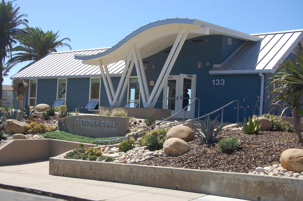 Addressing a use policy for Fletcher Cove Community Center at the Oct. 9 meeting, council members chose the lesser of three evils, ordering a report rather than calling for a costly special election or adopting an initiative they don't support. Photo by Bianca Kaplanek