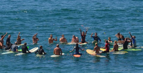 Surfer remembered for love of family and nature at paddleout