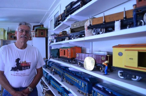 Train collector's hobby hasn't lost any steam