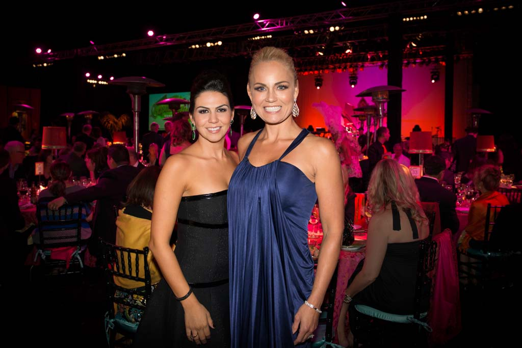 ROMP gala chairwomen Fernanda Whitworth and Jennifer Gramins, celebrate the success of the annual ROMP gala benefiting Ronald McDonald House Charities of San Diego, raising $690,000. Courtesy photo
