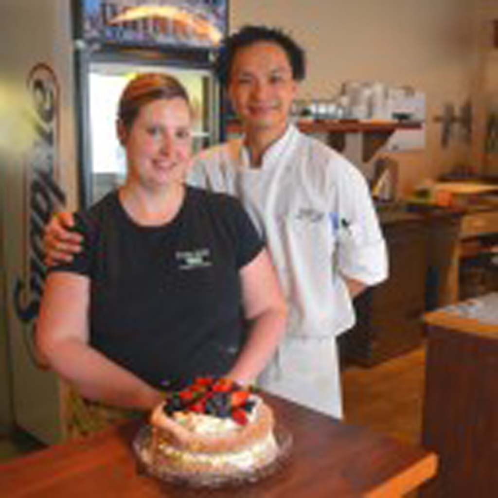 "Owners of the Owl's Nest Bakery and Bistro, Jacky and Kara Lai opened their café in March on picturesque Willow Street in Chemianus. The café features gourmet coffee, from-scratch entrees and a wide selection of gluten-free goodies, mostly made with local produce and farm products. The bistro accepts Chemainus Dollars, local currency that helps keeps money in the community. ""Chemainus is the perfect community in which to raise our son,"" Jacky said."