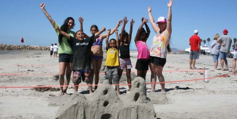 Harbor Days' first sandcastle building contest names a winner